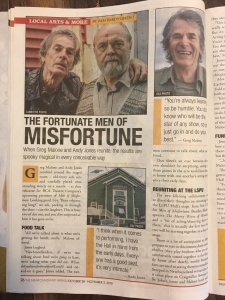 Men of Misfortune Article in the Newfoundland Herald.