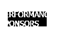 2019-20 Performance Sponsors