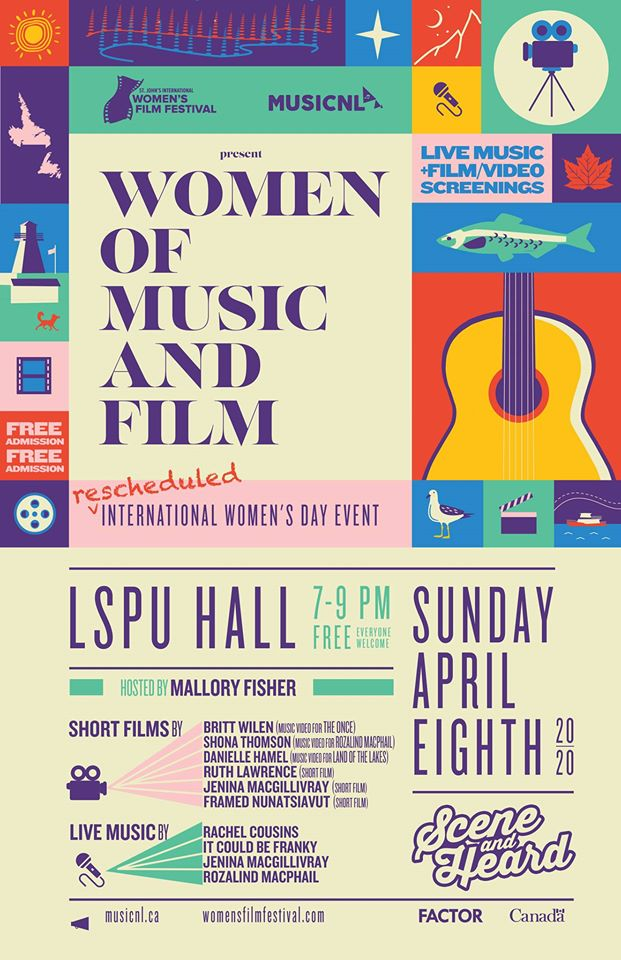 Poster for Women of Music and Film
