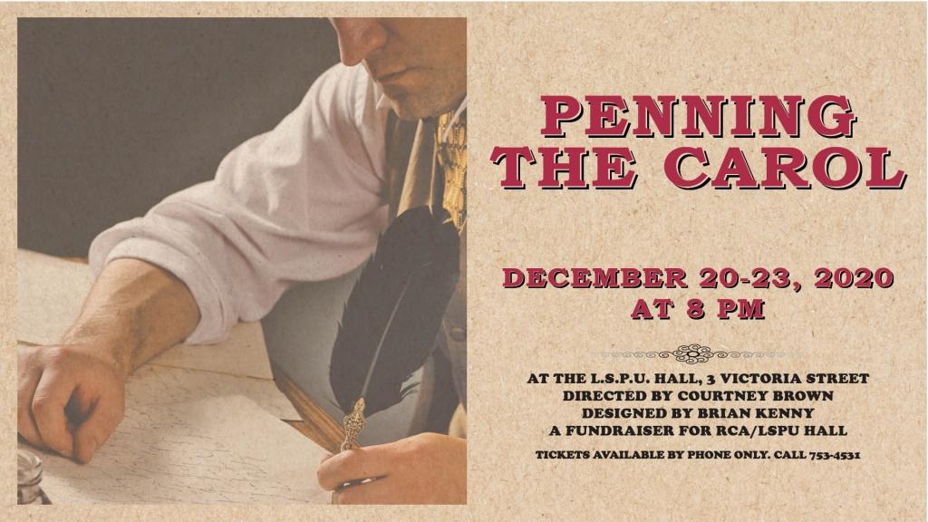 Penning the Carol Poster